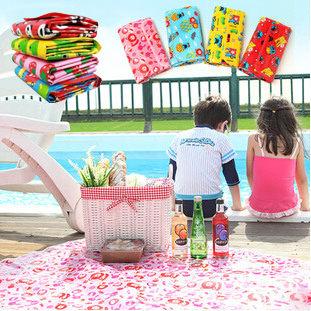 PS Mall 戶外郊遊必備 戶外野餐墊 沙灘墊 兒童遊戲墊 寶寶爬行墊【J1487】