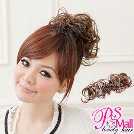 PS Mall╭*造型師新秘必備 髮量增多 扣式造型長捲髮條假髮【P008】