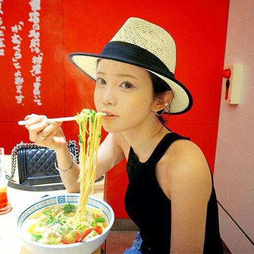 PS Mall 男女帽 春夏季草帽 螢光時尚遮陽帽 沙灘太陽帽 爵士帽 防曬帽子【G1702】