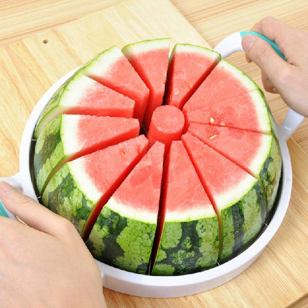 PS Mall 不鏽鋼水果切片器 分割器 西瓜切 西瓜刀 水果刀切果器【J115】