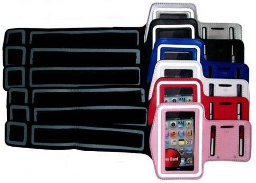 PS Mall 手機臂套iPhone5、三星9300 S3、三星7100 NOTE II、HTC M7 ONE 顏色隨機【J2269】PT