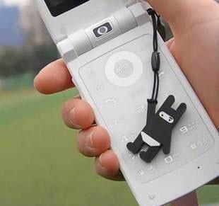 PS Mall╭* 韓國迷你款 可愛的一家 手機鏈 手機吊飾 掛飾 包包吊飾 裝飾品【J476】