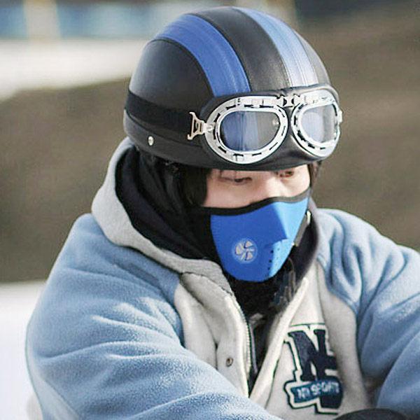 PS Mall 冬季必備自行車/摩托車防風保暖面罩/滑雪護臉 面罩口罩【J1522】