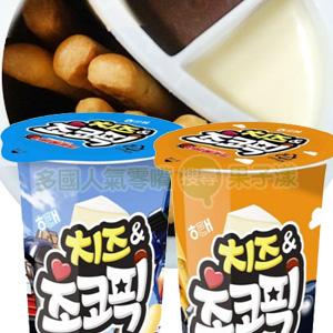 韓國Haitai海太 巧克力起司沾醬餅乾棒 隨手杯 [KR211]