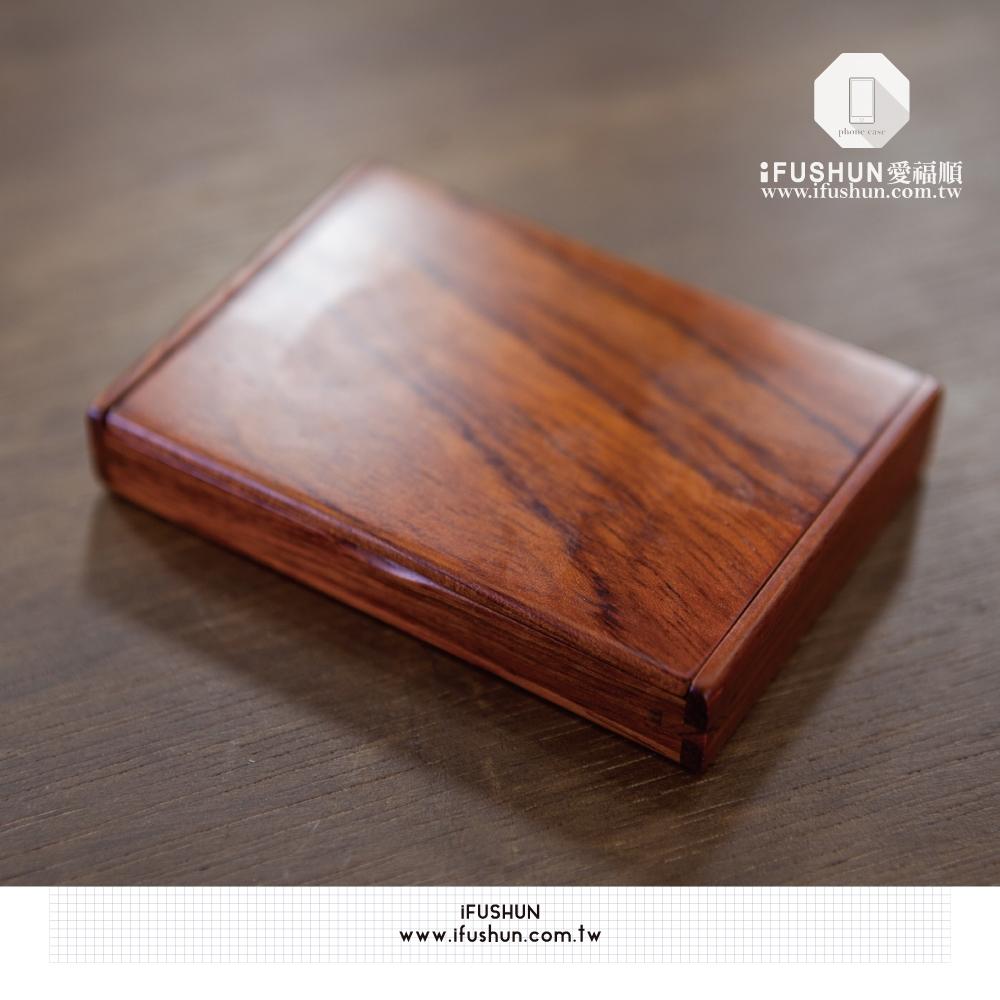 iFUSHUN for 花梨木旋轉名片盒 原木名片盒 名片盒