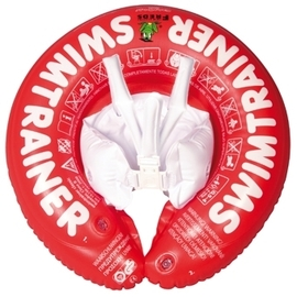 *babygo*德國SWIMTRAINER Classic 學習游泳圈(3個月~4歲 6-18kg)【紅色】