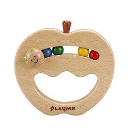 *babygo*PlayMe 嬰幼兒抓握玩具~【微笑蘋果 Smile Apple】