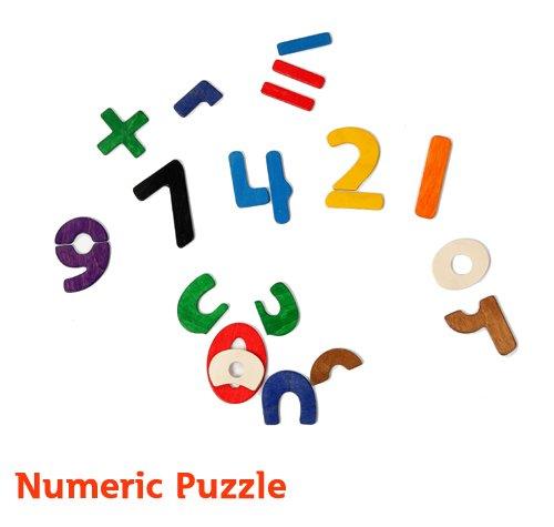 *babygo*PlayMe 數字學習與拼圖玩具【數字拼圖Numeric Puzzle】