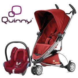 *babygo*Quinny Zapp Xtra2 2015 嬰兒手推車【紅色】+贈Maxi-Cosi提籃(顏色隨機)
