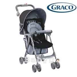 *babygo*GRACO Citisport EDT dlx城市遊俠EDT豪華版輕便型單向嬰幼兒手推車-經典黑