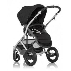 *babygo*英國Britax-Affinity四輪雙向嬰兒手推車【黑色】BX00370
