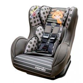 *babygo*法國 NANIA 納尼亞旗艦0-4歲安全汽座-卡通動物系列【長頸鹿綠】FB00386