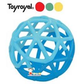 *babygo*樂雅Toyroyal魔法洞洞球【海洋藍】