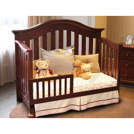 *babygo*LEVANA【古典莊園系列】肯辛頓 嬰兒床/嬰兒成長床/兒童床【櫻桃色】預購