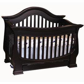 *babygo*LEVANA【皇家系列】莉娃納嬰兒床/嬰兒成長床/兒童床【黑檀色】預購