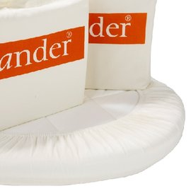 *babygo*丹麥 Leander 搖籃配件-床包 (2入)