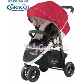 *babygo*GRACO 3W單向豪華型嬰幼兒手推車CITITREK【紅太陽】