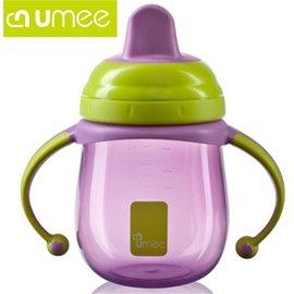 *babygo*荷蘭Umee PP練習水杯-220ml【紫色】