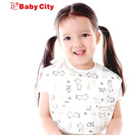 *babygo*娃娃城 Baby City 防水圍兜-米色狗【6-24M】