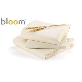 *babygo*美國Bloom -Alma Papa 摺疊嬰兒床配件- 床單2入 (有機棉款)【小麥色】