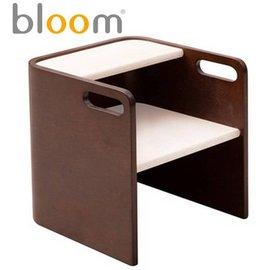*babygo*美國Bloom -pogo 3合1 腳踏凳/坐凳/小桌子【咖啡白】