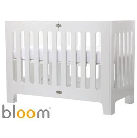 *babygo*美國Bloom- Alma Papa 摺疊嬰兒床(中床) 【白】