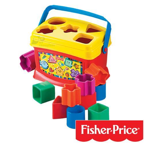*babygo*Fisher-Price費雪牌新寶寶積木盒