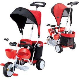 *babygo*日本IDES 超大置物箱三輪車【紅色】