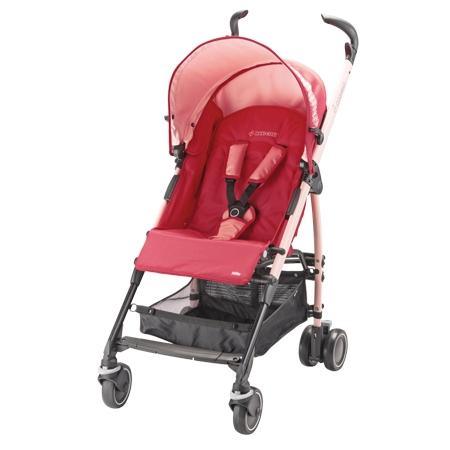*abygo*Maxi-Cosi Quinny Mila 嬰幼兒手推車(粉)+Cabrio 提籃(隨機出貨)
