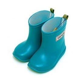 *babygo*日本stample兒童雨鞋【天空藍】附鞋墊