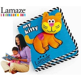 *babygo*Lamaze拉梅茲嬰幼兒玩具-我的小貓咪布書 LC977102