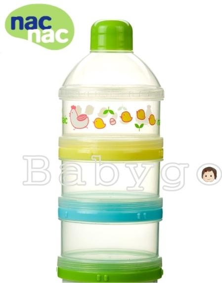 *babygo*Nac Nac三層奶粉罐
