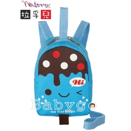 *babygo*拉孚兒幼兒防走失安全背包-(冰棒-藍色)