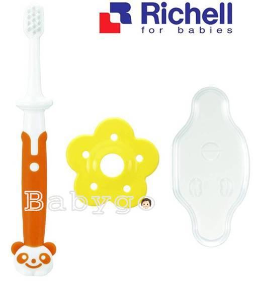 *babygo*Richell乳牙訓練牙刷【12m】