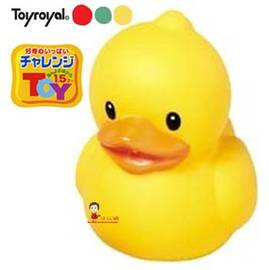 *babygo*樂雅Toyroyal 軟膠小鴨鴨洗澡玩具