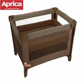 *babygo*愛普力卡 Aprica -可安睡‧可折疊‧可攜帶式嬰兒床COCONEL AirPlus任意床【松露棕】