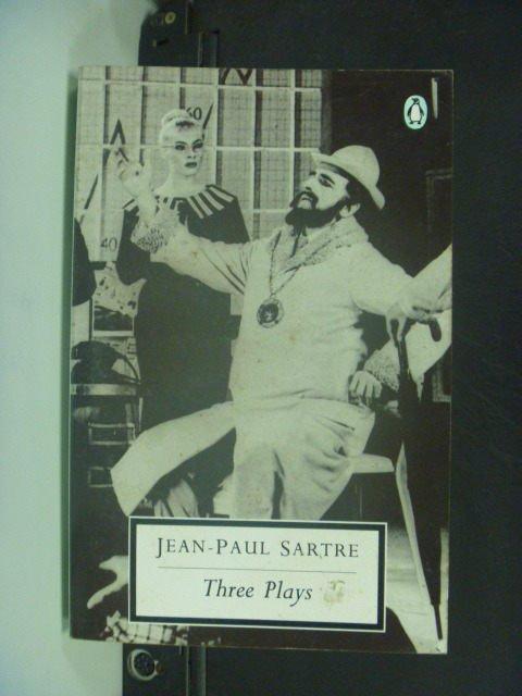 【書寶二手書T6/原文小說_KNO】Three Plays_Jean -Paul Sartre