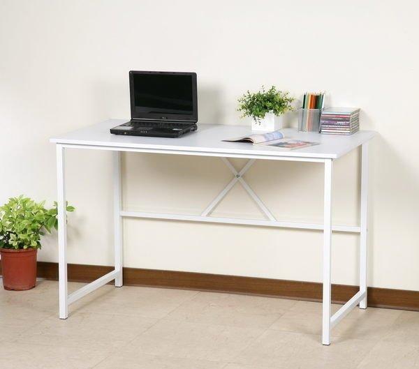 120公分電腦桌 工作桌 書桌~25mm粗鐵管(穩固耐用防潑水)【馥葉】【型號DE017】可加購玻璃、鍵盤、抽屜 促銷
