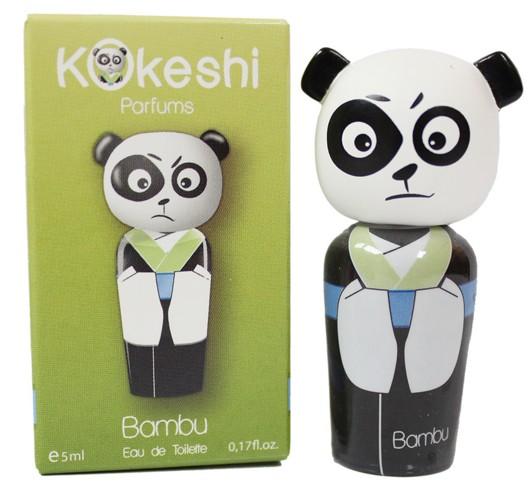 Kokeshi Bambu 友誼娃娃男性淡香水 熊貓限量版 5ML ☆真愛香水★
