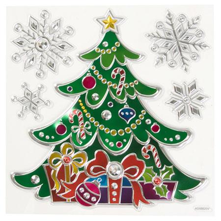 聖誕壁貼 多彩聖誕樹