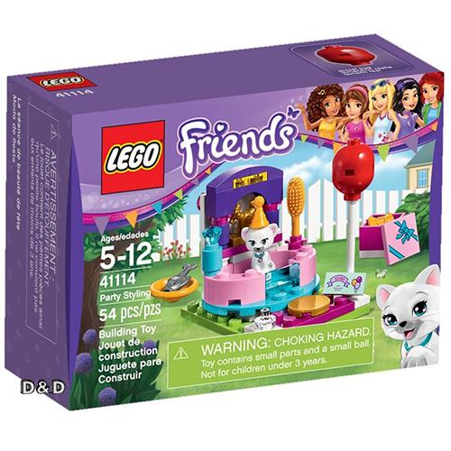 樂高積木LEGO《 LT41114 》2016 年 Friends 姊妹淘系列 - 派對造型