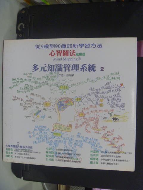 【書寶二手書T1/心理_GRN】多元知識管理系統2_心智圖法進階篇_孫易新