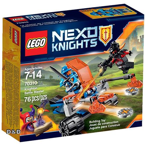 樂高積木LEGO《 LT70310 》Nexo Knights 未來騎士系列 - 騎士王國飛盤發射車