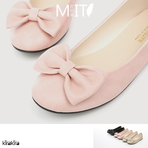 娃娃鞋 SALE 俏麗小清新蝴蝶結舒適包鞋MIT【011500957】