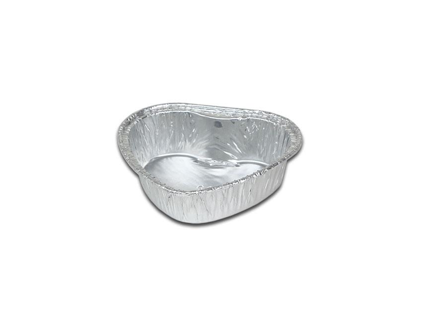 鋁箔容器、錫箔、烤模、蛋糕  3吋小愛心鋁箔 90(100pcs/包)(透明蓋選配)