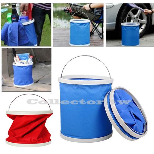 【F16071803】9L便攜式折疊水桶 清潔折疊桶 伸縮水桶 洗車水桶 多功能便攜式折疊汽車水桶