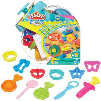 《★ 美國PLAY DOH》 糖果罐遊戲組黏土 全台最低價 美國購入 兒童安全黏土