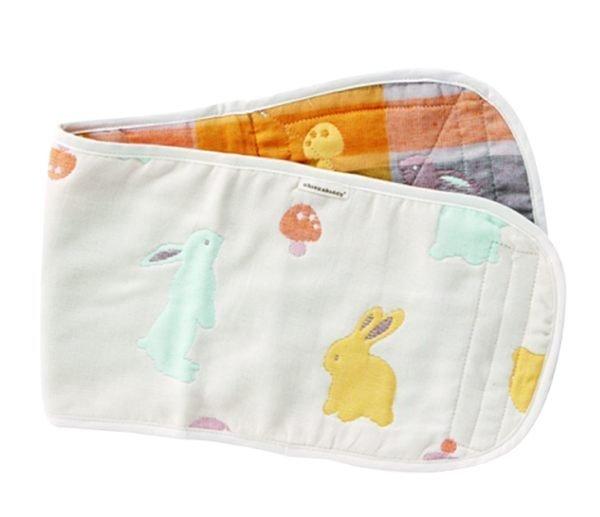 【淘氣寶寶】奇哥 Joie 快樂森林六層紗小肚圍 (63cm*18cm) 六層紗布製成、透氣排汗 【奇哥正品】