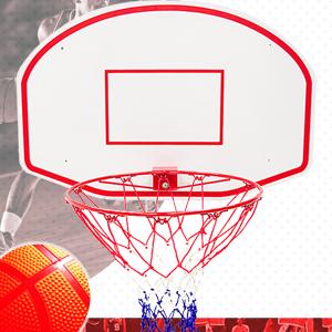 中型籃球板(籃球架子.籃框籃球框架.籃板籃球板子.籃網籃球網子.中型籃球架.打籃球灌籃投籃架玩球類運動用品.推薦哪裡買) P116-3624