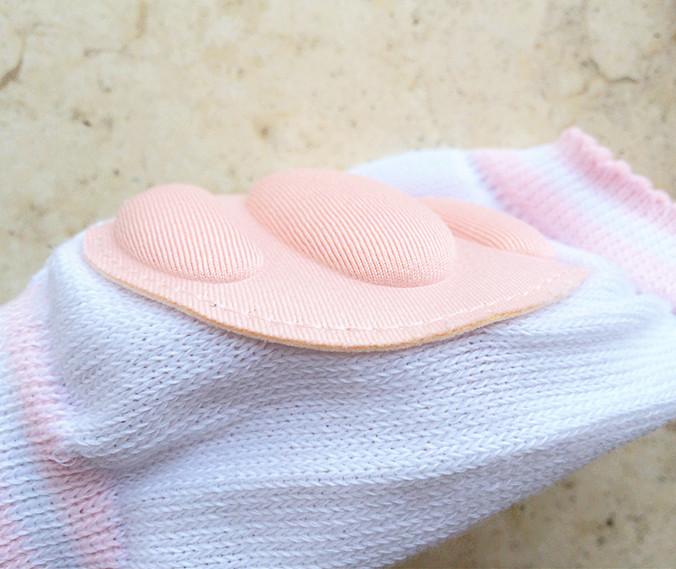 加厚海綿嬰兒護膝爬行墊(一組2雙顏色隨機)